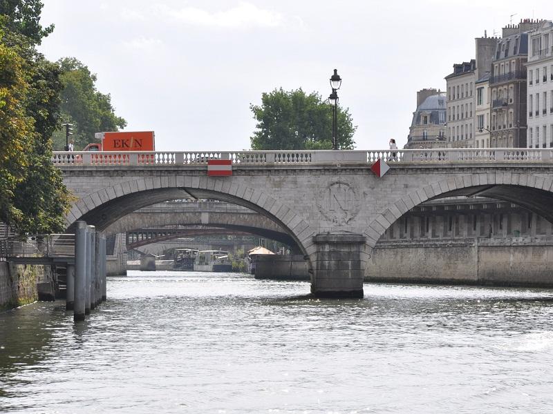 Saint Michel Paris France Pont Saint-michel Paris Paris